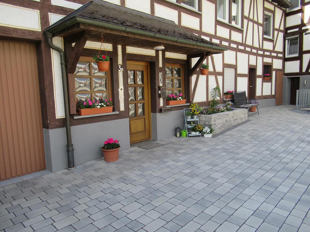 Hof Eingang